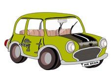 Bean先生汽车 免版税库存照片