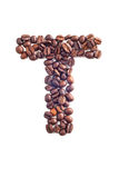 bean śniadanie kawa ideał wyizolował makro nadmiar białych Zdjęcia Stock