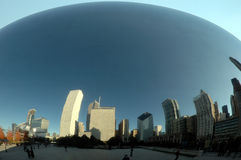 The Bean. In Chicago, Cloud gate Stock Image