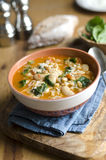 Bean and barley soup Stock Photos