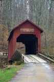 Covered bridge in Indiana Stock Photos