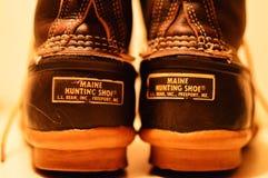 Bean Boots immagine stock
