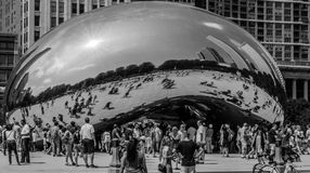 The Bean (Cloud Gate), Chicago Royalty Free Stock Photos