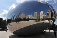 The Bean of Chicago Royalty Free Stock Photography
