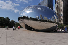 The Bean in Chicago Royalty Free Stock Photo