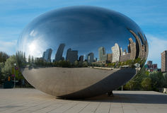 The Bean Chicago Stock Image