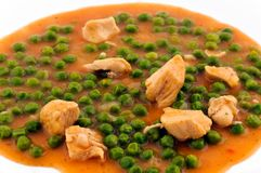 Bean and Chicken Stock Image