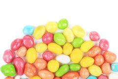 Bean in color glaze. Royalty Free Stock Photos