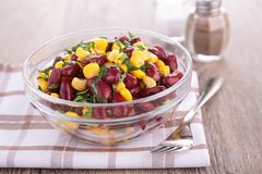 Bean and corn salad Stock Images