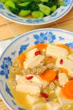 Bean curd cuisine Royalty Free Stock Photo