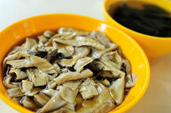 Bean curd skin healthy dish Royalty Free Stock Images