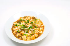 Bean curd szechuan-style Royalty Free Stock Photo