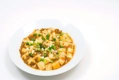 Bean curd szechuan-style Royalty Free Stock Photo