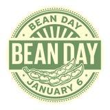 Bean Day, el 6 de enero libre illustration