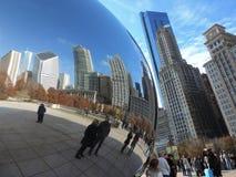 The Bean Downtown Chicago Stock Photos