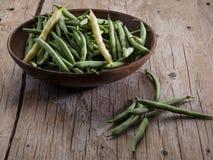 Bean-Hülsen Lizenzfreie Stockbilder