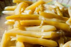 Bean husks food Stock Images
