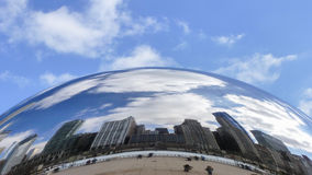 The bean II. The Chicago Bean Royalty Free Stock Photo