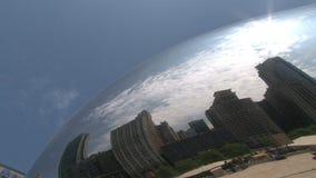 Bean am Jahrtausend-Park, Chicago stock footage