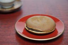 Bean jam pancake Royalty Free Stock Image