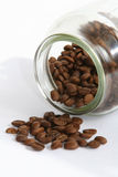 bean kawa słoik Obraz Stock