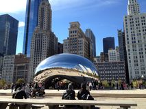 The Bean @ Millennium Park Royalty Free Stock Photo