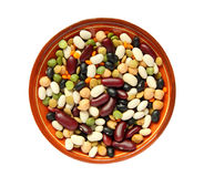 Bean mix Stock Photo