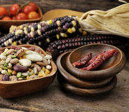 Bean Mix And Spices Stock Images