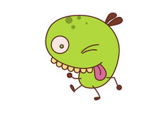 Bean Monster Image stock