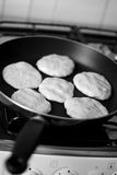 Bean pancakes Royalty Free Stock Images