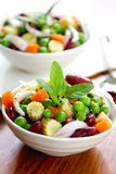 Bean & pea salad Stock Image