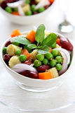 Bean & pea salad Royalty Free Stock Image