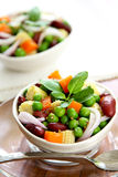Bean & pea salad Royalty Free Stock Photography