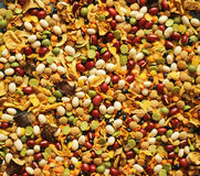 Bean and peas mix. Bean and peas  colorful mix Stock Image