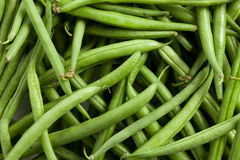 Bean pods background Stock Photography