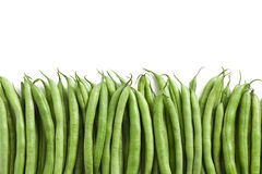 Bean pods background Stock Images