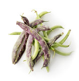 Bean pods isolated Stock Image