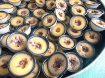 Bean Pudding rosso Immagini Stock