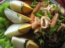 Bean Salad à ailes épicé (Yum Tua Plu) Photographie stock libre de droits