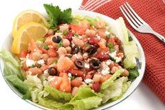 Bean salad. Fresh and healthy mediterranean style bean salad Stock Photos