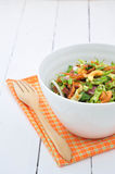 Bean salad. Thai food bean salad and ingredients Royalty Free Stock Photo