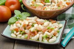 Bean salad Stock Images