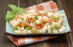 Bean salad Royalty Free Stock Photo