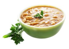 Bean soup Stock Photos