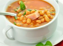 Bean soup Stock Photography