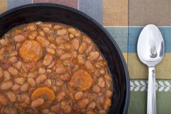 Bean soup. Stock Photography