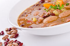 Bean soup Stock Images