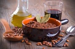 Bean soup. Royalty Free Stock Photos