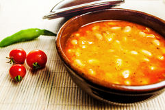 Bean Soup Royalty Free Stock Photography