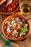 Bean soup in the bowl Royalty Free Stock Photos